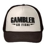 Gambler Black Logo Trucker Hat