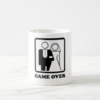 Game Over Basic White Mug