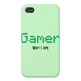 Gamer Who I Am Cases For iPhone 4