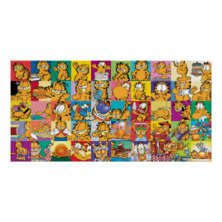 Garfield's Cover Collection Poster