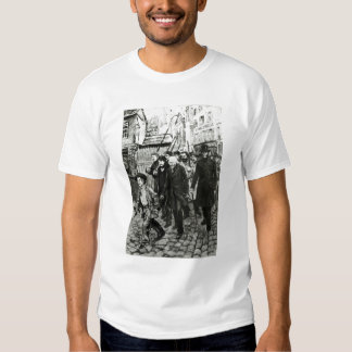 Gavroche Leading a Demonstration Shirts