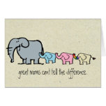 gay elephant mothers day card