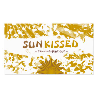 GC | Sun Kisssed Grunge & Sun Rays Pack Of Standard Business Cards