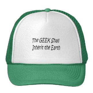 Geek Shall Inherit The Earth  Cap