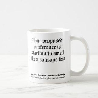 Gendered Conference Campaign Mug