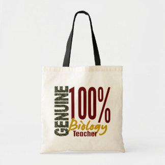 Genuine Biology Teacher Budget Tote Bag