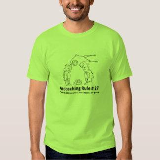 Geocaching DNF - Straight line Tee Shirt