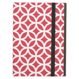 Geometric Poppy Red iPad Air Case
