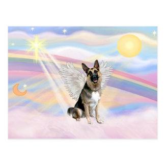 German Shepherd Angel (3) Postcard