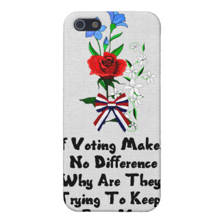 GET OUT THE VOTE iPhone 5 COVERS