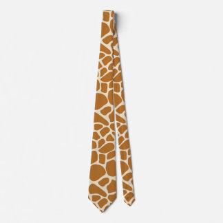 Giraffe Spots Tie