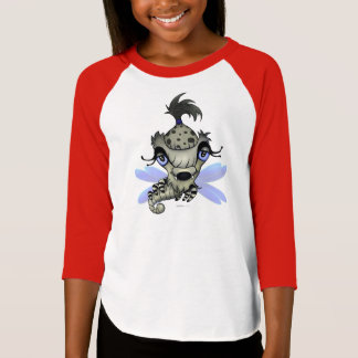 Girl shirt monster Queen Horsha monstre chandail f