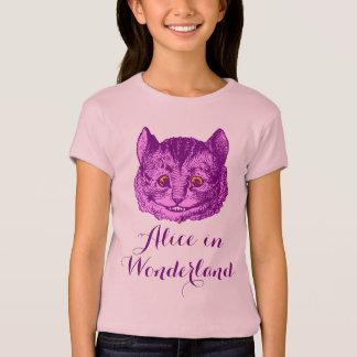 """Girl's """"Alice in Wonderland"""" Cheshire Cat T-Shirt"""