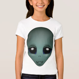 Girl's Alien Shirt Girl's Extraterrestrial T-Shirt