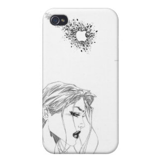 Glamour Apple Girl iPhone 4/4S Cases
