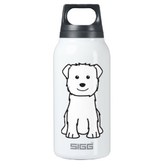 Glen of Imaal Terrier Dog Cartoon 0.3 Litre Insulated SIGG Thermos Water Bottle