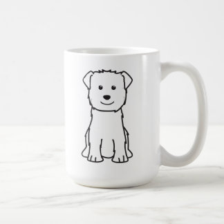 Glen of Imaal Terrier Dog Cartoon Basic White Mug