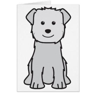 Glen of Imaal Terrier Dog Cartoon Note Card