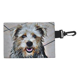Glen of Imaal Terrier Pop Art Accessory Bags