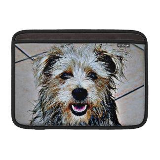 Glen of Imaal Terrier Pop Art MacBook Sleeve