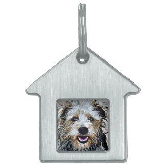 Glen of Imaal Terrier Pop Art Pet Tags