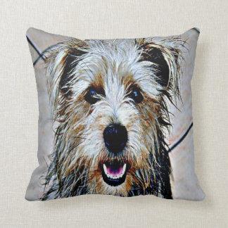 Glen of Imaal Terrier Pop Art Throw Cushion