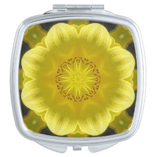 Glowing Day-Lily Compact Mirror