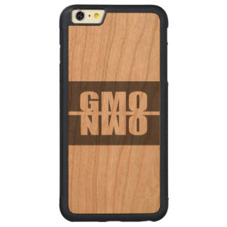 GMO NWO CARVED® CHERRY iPhone 6 PLUS BUMPER CASE