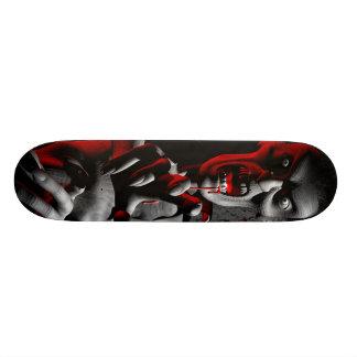 Gnarly zombie custom skateboard