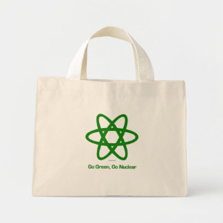 Go Green, Go Nuclear bag