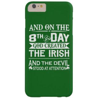 God Created Irish Barely There iPhone 6 Plus Case