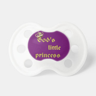 God's Little Princess Baby Pacifiers