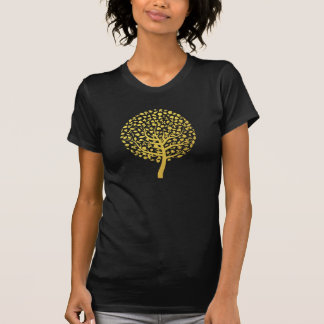 Gold Tree Tee Shirt