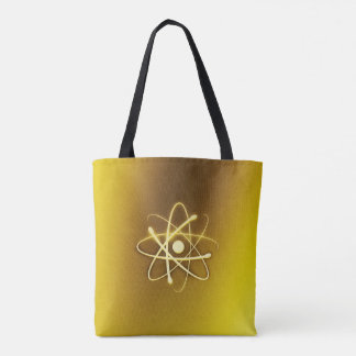 Golden Atom | Geek Gifts Tote Bag