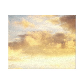 Golden Cloud in Sky Canvas Stretched Canvas Print