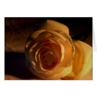 """""""Golden Rose"""" Card With Poem"""