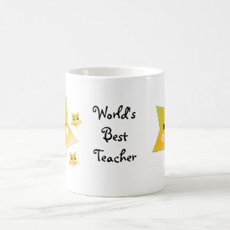 Golden Stars - World's Best Teacher Mug
