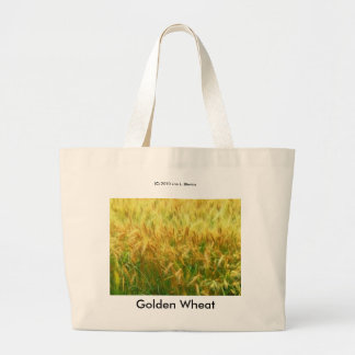 Golden Wheat Jumbo Tote Bag
