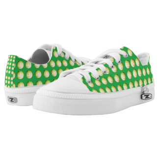 Golf_Balls_On_Green,_Zipz_Printed_Sneakers. Printed Shoes