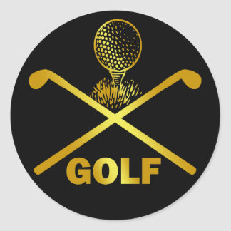 GOLF ROUND STICKER