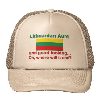 Good Looking Lithuanian Aunt Cap
