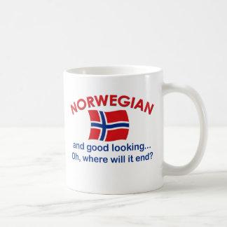 Good Looking Norwegian Basic White Mug
