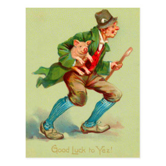 Good Luck St. Patrick's Day Postcards