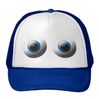 Goofy Eyeballs Halloween Hat
