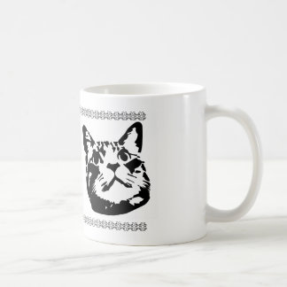 Got coffee cat basic white mug