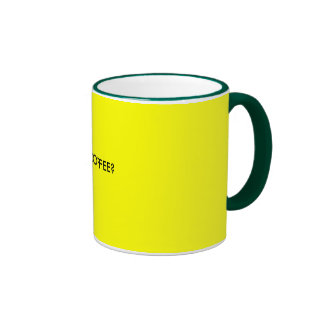 GOT COFFEE? RINGER MUG