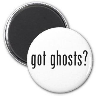 Got Ghosts? 6 Cm Round Magnet