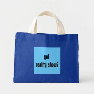 got reality show? mini tote bag