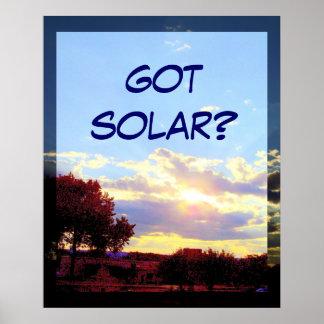 GOT SOLAR? print