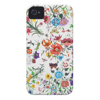 grace Kelly Designer Floral Scarf Iphone case